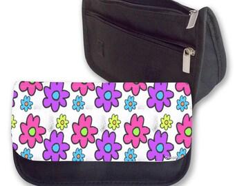 GROOVY FLOWERS Pencil case / Make up bag