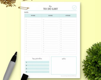 The To Do List - Single Insert - The Ultimate Planner
