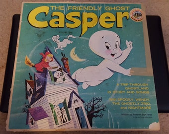 Casper The Friendly Ghost vintage album