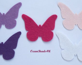 15 Butterfly (Pink, Purple, White)