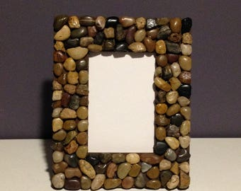 Rustic Stone 4x6 Picture Frame