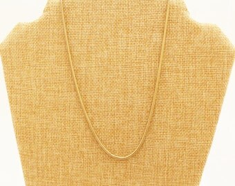 1/20th 12k Gold filled Snake Chain - NK048