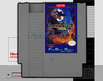 """SPECIAL ORDER! """"Darkwing Duck 2"""" Unreleased Nintendo NES Hack Platformer!"""