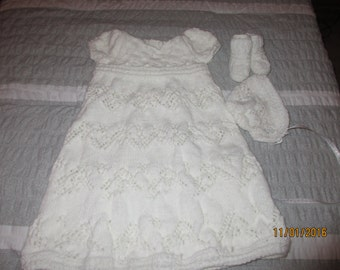 Christening Gown Set-Free Shipping