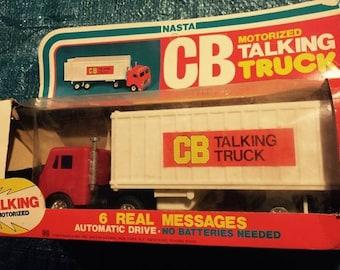 Vintage CB Talking Truck by Nasta
