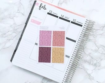 Final Sale // GLOSSY Passionate Pink Glitter Headers