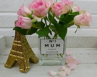 NO 1 Mum Perfume bottle vase