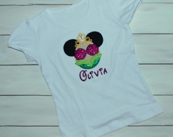 Mermaid Mouse Ears Shirt - Mermaid Shirt - Mermaid Mouse Shirt - Mermaid Vacation Shirt - Mouse Shirt - Family Vacation Shirt