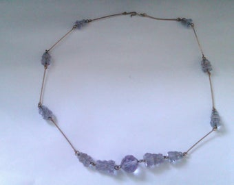 deco glass bead necklace
