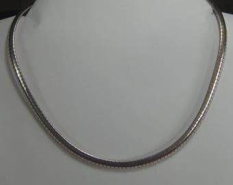 F-67  Vintage Necklace choker 925 silver