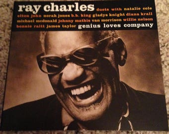 Special Ray Charles custom duets with many famous artists