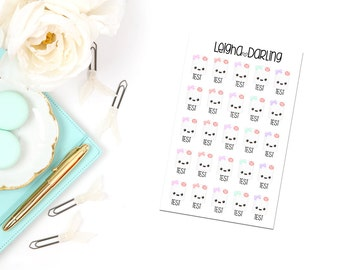 Kawaii Test/School Planner Stickers