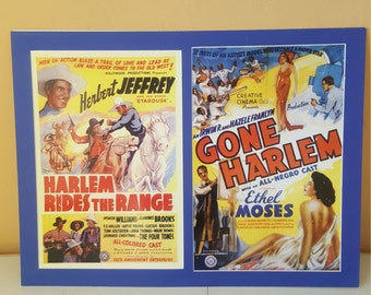 FREE SHIPPING! Black Americana Original Movie Posters