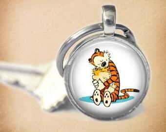 Calvin and Hobbes  Key Chain