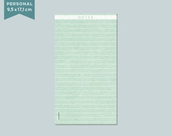 Notepad - 50 pages - ca. 95 x 171 mm (Filoax Personal)