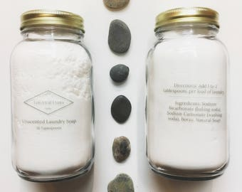 All-Natural Laundry Soap