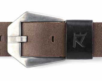 Leather Belt, Mens Leather Belt, Womens Leather Belt, Genuine Leather Belt, Full Grain Leather Belt, Brown Leather Belt