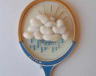 Cloud Woven Vintage Racquet