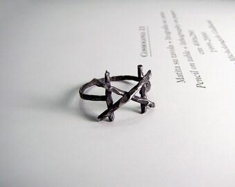 DAGAZ rune silver ring - Sterling silver runes - The rune ring of spiritual Awakening. FREE SHIPPING!!!