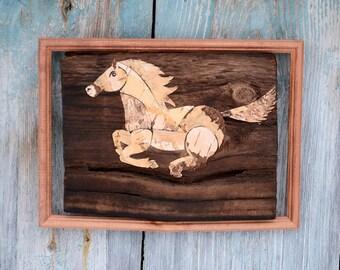 Wall Art Horses horse wall decor | etsy
