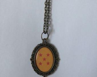 Dragonball Z Cameo Necklace