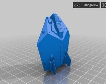 Asp Explorer Ship From Elite Dangerous [3D Printed]