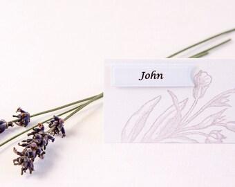Floral Place Cards - Romantic Wedding - Wedding Place Cards - Wedding Place Names - Place Cards - Pink Wedding - Modern Wedding