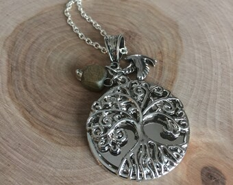 Tree of Life pendant necklace, Serenity Tree