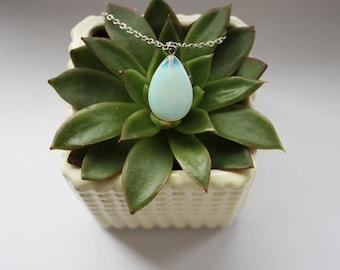 Opal Quartz Necklace