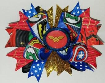 Wonder Woman Hairbow