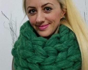 Chunky knitt scarf, Chunky knit scarves, Super chunky infinite scarves Chunky scarf Infinity scarf Mohair scarf Knit scarf,Christmas Gift