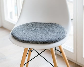chair cushions in gray suitable for eames chair limited - Chair Pads