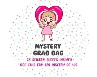 Mystery Grab Bag - 25 sheets of Mimi-chan and Mako-chan characters!