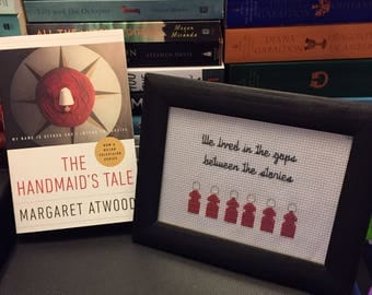 The Handmaid's Tale Cross Stitch