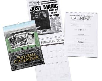 Scottish International A4 Calendar