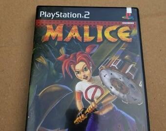Original Malice Playstation  PS2 Game Complete CIB!