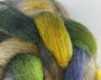 Sideways Succotash: Hand-Dyed Masham