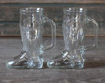 Boot glasses ... Frankenmuth, Michigan ... Bavarian Inn