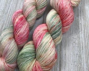 Country Cottage - Sweet Sock - Indie Sock Yarn, Indie Dyed Yarn, Speckled Sock Yarn, Hand Dyed Yarn, Sock Yarn, Indie Speckled Yarn
