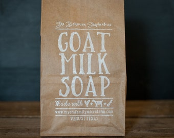 We Are Family Discount Soap Package // Organic Soap // All Natural // Goat Milk Soap // Farmstead Soap