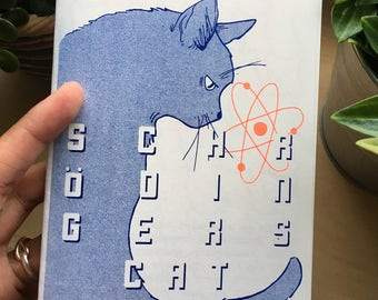 Scrödingers Cat Risograph Zine
