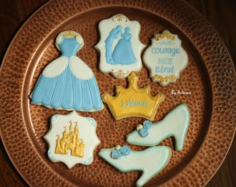 Cinderella Sugar Cookies