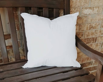 Pillow Form for 18x18 inch pillow covers