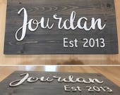Personalized Wooden Famil...