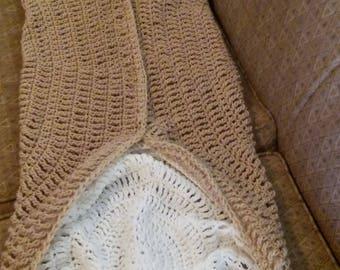 Crochet Blanket, Canoli Sleeping Bag
