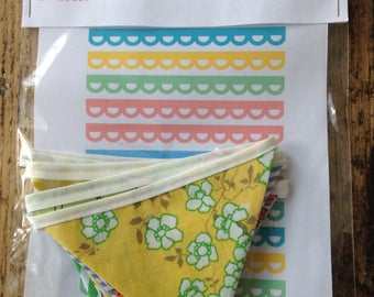 Bright and Sunny Bunting