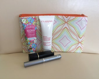 Makeup bag, cosmetic bag, toiletry bag,