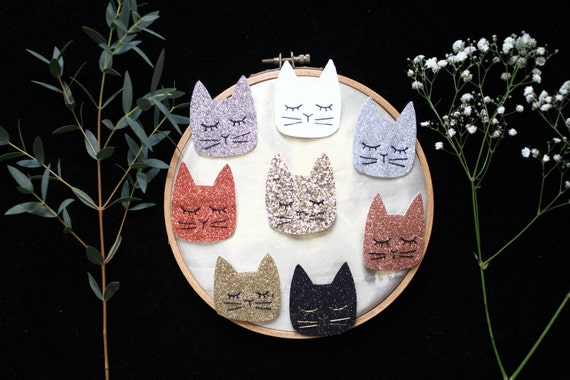 PIN cat Simone - Handmade - tender Cactus - La Rochelle