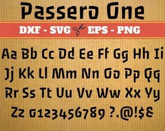 Script Monogram Svg Font; Svg, Dxf, Eps, Png; Digital Monogram, Calligraphy Script, Cursive Svg Font, Silhouette, Cricut, Cut File