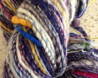 Corespun wool yarn